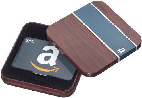 Amazon.de Geschenkgutschein in Geschenkdose - 50 EUR (Retro)