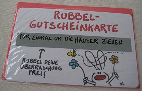 9 x Gutscheine Rubbelkarte Gutscheinkarte NIC Liebe Geburtstag Valentinstag - 6