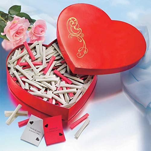 Liebes-Geschenk: Love-Heart – Herzbox – der Liebesbeweis mit Überraschung (Jeder Tag – neue Botschaft) zum Valentinstag - 2