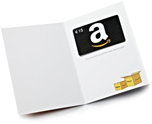 Amazon.de Grußkarte mit Geschenkgutschein - 3 Karten zu je 15 EUR (Alle Anlässe) - 3