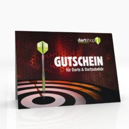 Dartshop Gutschein - das ideale Geschenk! 25€ Gutschein