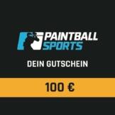 Paintball Sports Geschenkgutschein (100 Euro)
