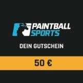 Paintball Sports Geschenkgutschein (50 Euro)
