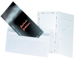 Trend Design Geschenkgutscheine 36Stück mit Umschläge